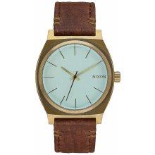 Nixon Time Teller - Brass/Green Crystal/Brown