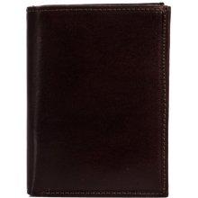 HELLIX pánská kožená peněženka P-1203 hnědá