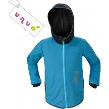 Basic Unuo dětská softshellová bunda tyrkys
