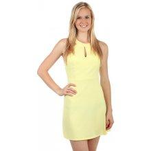 bdb13d9a736f YooY netradiční šaty s krajkovými zády 59999 žlutá