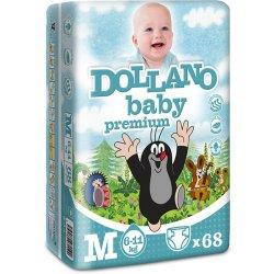 DOLLANO Baby Premium M 6 - 11 kg 68 ks Heureka.cz