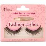 Absolute Cosmetics Glamour 47 Umělé nalepovací řasy středně dlouhé obloučkové černé