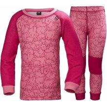 dětské termoprádlo Helly Hansen K Lifa Merino bright rose