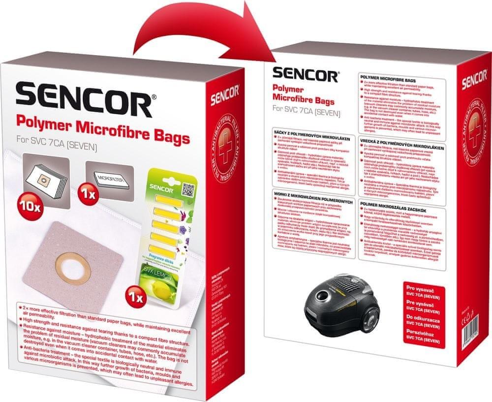 Sencor Micro SVC 7CA, 10 ks