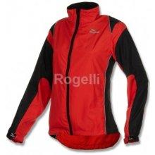 Rogelli dámská běžecká větrovka ELVI červeno černá