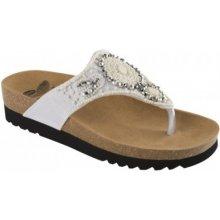 Scholl TAILA zdravotní pantofle bílé 840b3c33b80