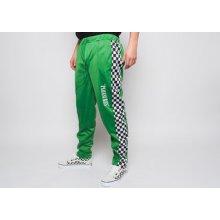 Pleasures Checker Track Pant Green zelená