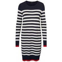 1a7ca1678ac97 Vero Moda dámské šaty Doss Lacole Ls O-neck Dress Boo Night Sky W.