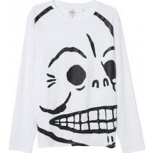 Cheap Monday Huge Skull Tee White