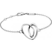 Náramek Calvin Klein ocelový se srdcem Warm KJ5AMB000100