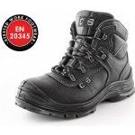 Kotníková obuv s ocelovou špicí a planžetou SAFETY STEEL CHROME S3