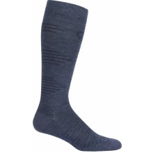 Icebreaker Mens Hike+ Light Cushion Compression OTC, Fathom HTHR/Midnight Navy