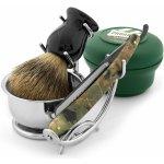 Trendhim Set na holení s břitvou Razolution Camouflage Razolution_Camouflage_Straight_Razor_Shaving_Set