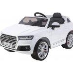 Beneo elektrické autíčko Audi Q7 bílé Eva kola kožené sedadlo 12V