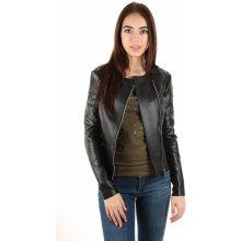 Guess dámská koženková bunda černá