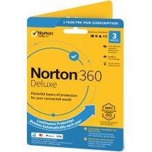 Symantec NORTON 360 DELUXE 25GB +VPN 1 lic. 3 lic. 1rok ESD (21405802)