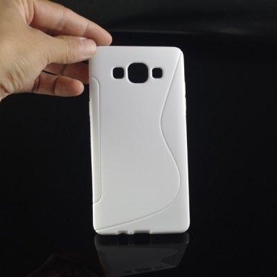 Pouzdro SES Silikonové ochranné S-line Samsung Galaxy A5 A500F - bílé