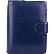 ITALSKÉ Modré dámské peněženky malé 8075 blue