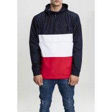 Urban Classics Color Block Pull Over Jacket navy 2d3df09aec