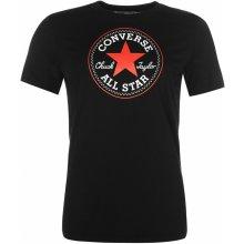 a5b69308215 Converse Chest Logo T Shirt Black 570179