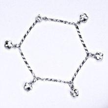 Swarovski čirými krystaly, kytičky, R 1297