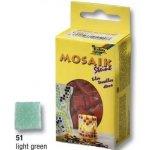 Folia Mozaika skleněná 10 x 10 mm Zelená světlá
