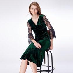58348ec6f682 Koktejlové šaty do divadla na svatbu zelená plesové šaty - Nejlepší ...