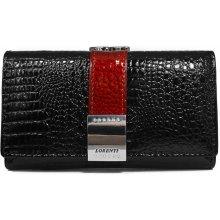 Lorenti Dámská kožená peněženka WL8924-2C- černá