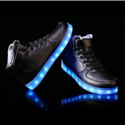 98a787e2c85 StarWalker Svítící LED boty - Černé od 1 489 Kč - Heureka.cz