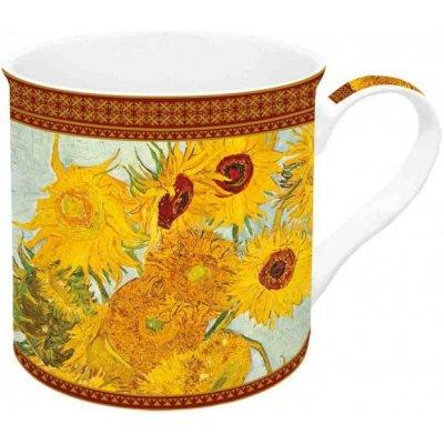Easy Life Porcelánový hrnek Vase With Twelve Sunflowers 300 ml