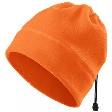 Fleecová čepice/nákrčník oranžová