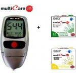 MultiCare IN + Cholesterové prúžky, 5 ks + Triglyceridné prúžky,5 ks