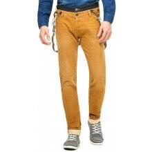 Desigual pánské jeansy okrová