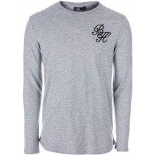 Beck And Hersey Mens Long Sleeve T Shirt Grey