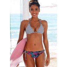 Venice Beach Bikinové kalhotky »Summer« námořnická modrá s potiskem