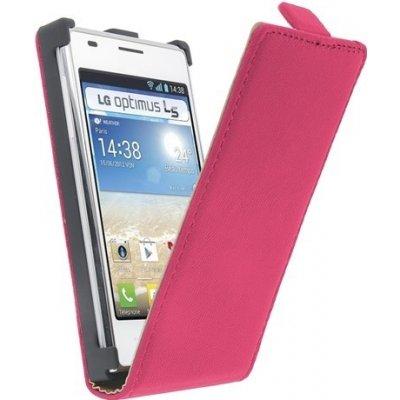 Pouzdro GT Exclusive LG Optimus L5 / E610 Růžové