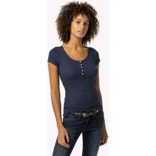 Tommy Hilfiger Dámské tričko Basic tmavě modré ea7d793c9b