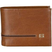 Giudi pánská hnědá kožená peněženka 6993