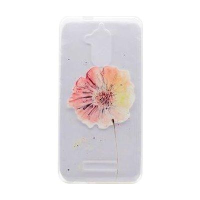 Pouzdro Ergo gelové Asus Zenfone 3 Max ZC520TL - květina