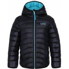 Udatel dětská zimní bunda černá