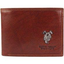 Harvey Miller David pánská kožená peněženka hnědá