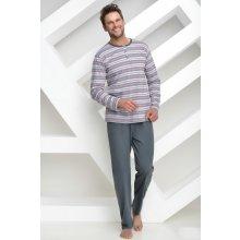 Bavlněné pánské pyžamo Friderik