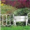 Plastový plot s květináčem v.340mm BÍLÝ (bal.3,5m)