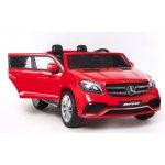 Beneo elektrické autíčko Mercedes Benz GLS 63 4x4 červené