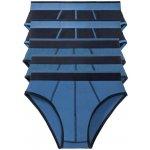 Recenze Livergy pánské slipy námořnická modrá / modrá