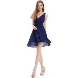 275f90caf Ever-Pretty šifonové šaty krátké 3644 tmavě modrá od 1 090 Kč ...