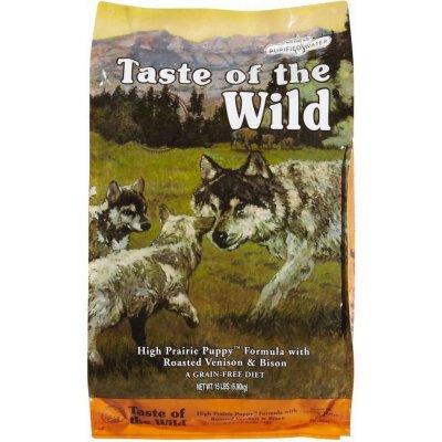 Taste of the Wild High Prairie Puppy 12,2 kg + 12,2 kg