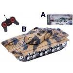 Mikro Trading Tank RC plast 22cm na baterie plná funkce se světlem a zvukem