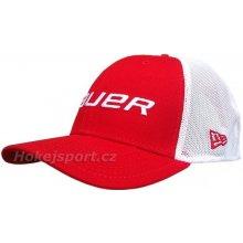 Bauer New Era 39Thirty cap Red kšiltovka