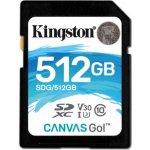 Kingston SDXC 512GB UHS-I U3 SDG/512GB